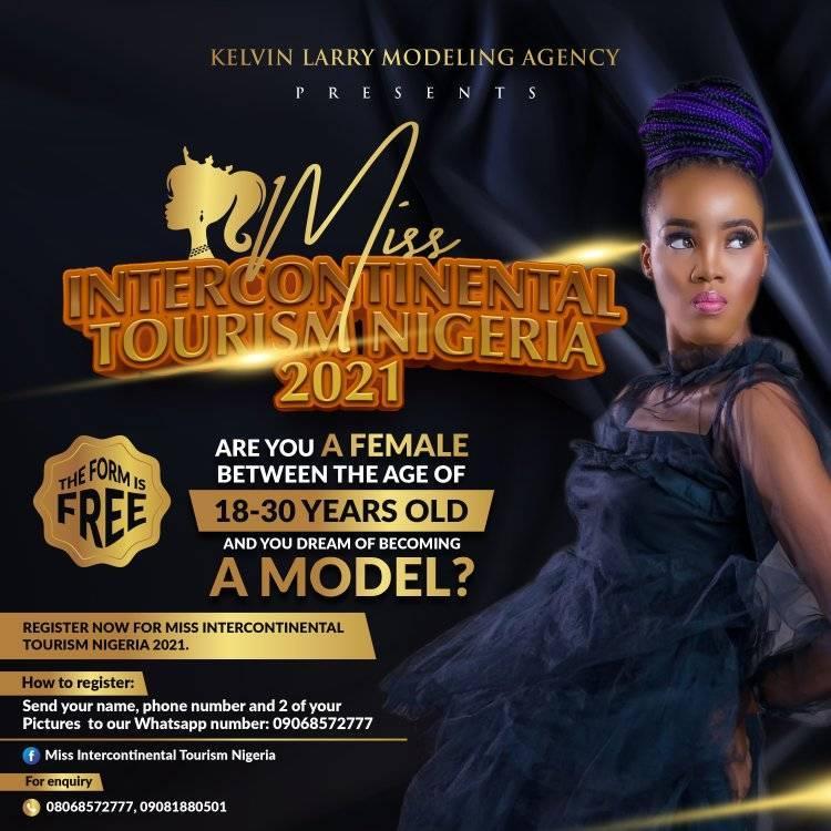 Miss Intercontinental Tourism Nigeria 2021