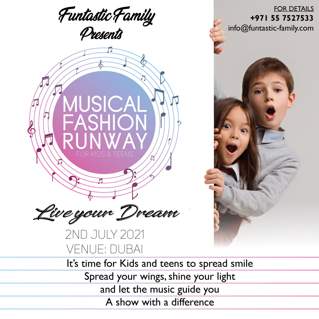MUSICAL FASHION RUNWAY