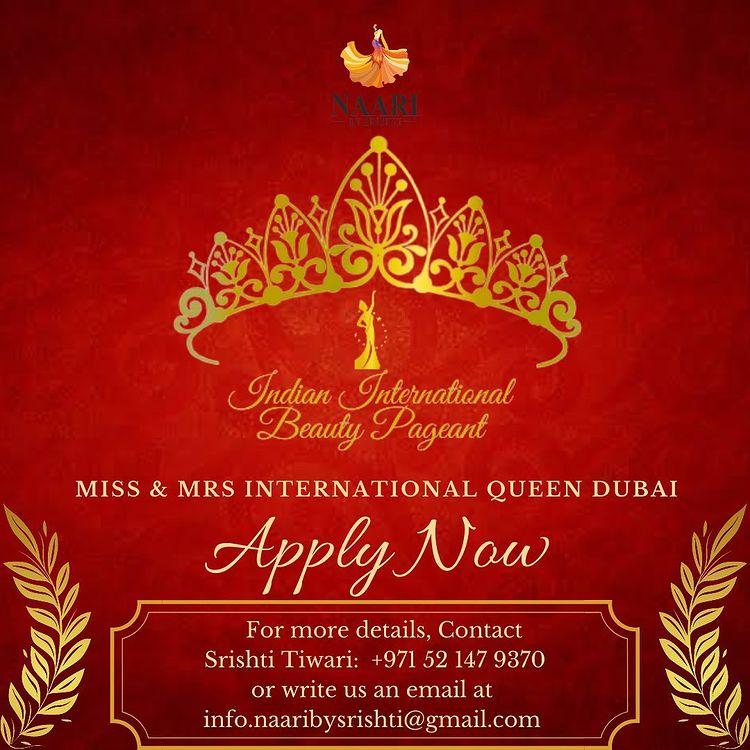 Miss and Mrs International Queen Dubai 2021