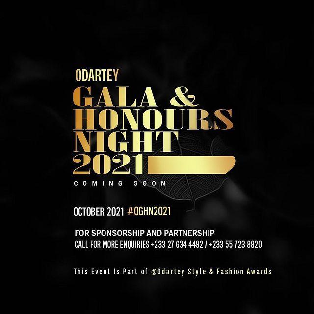 ODARTEY GALA & HONOURS NIGHT - 2021