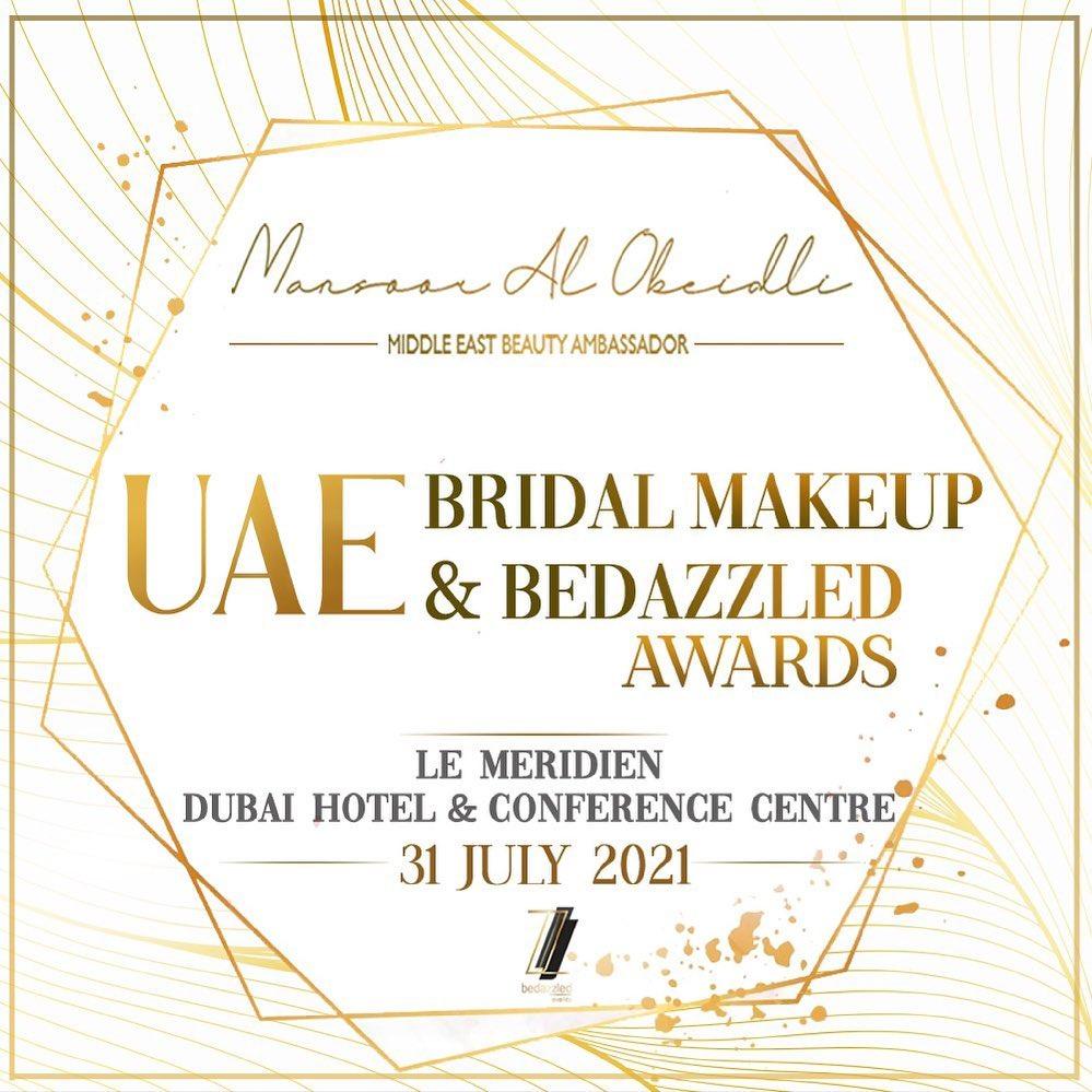 UAE Bridal Makeup & Bedazzled Awards