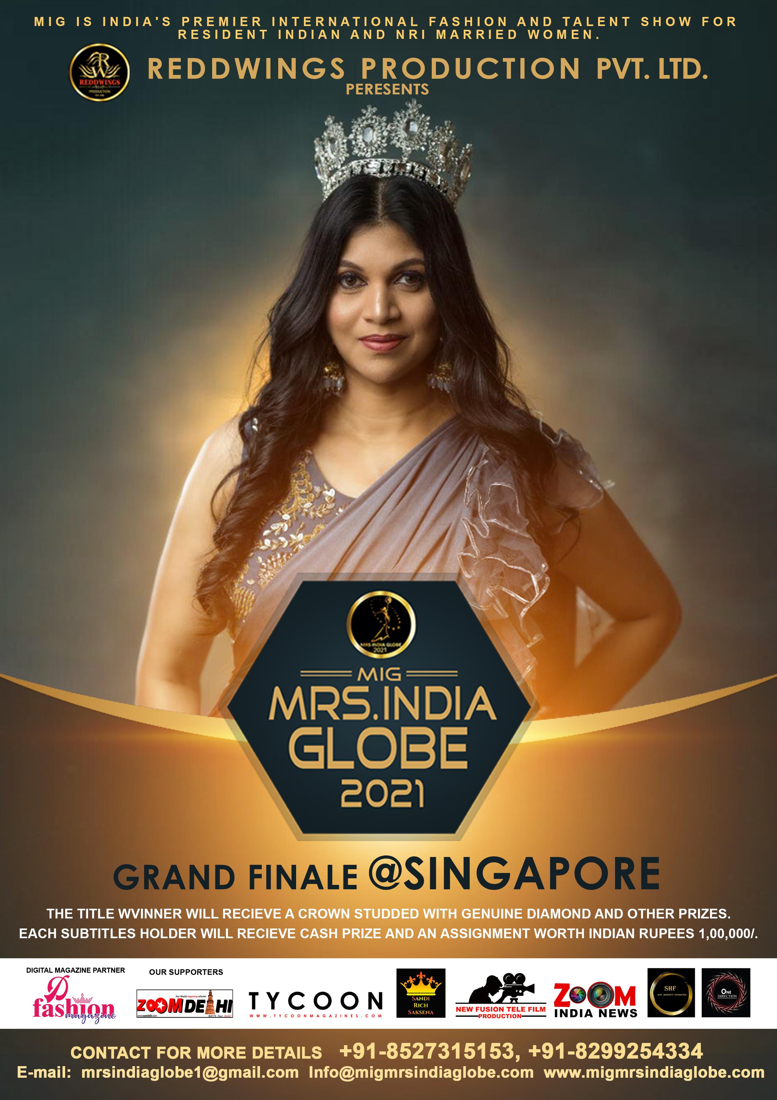 Mrs. India Globe 2021