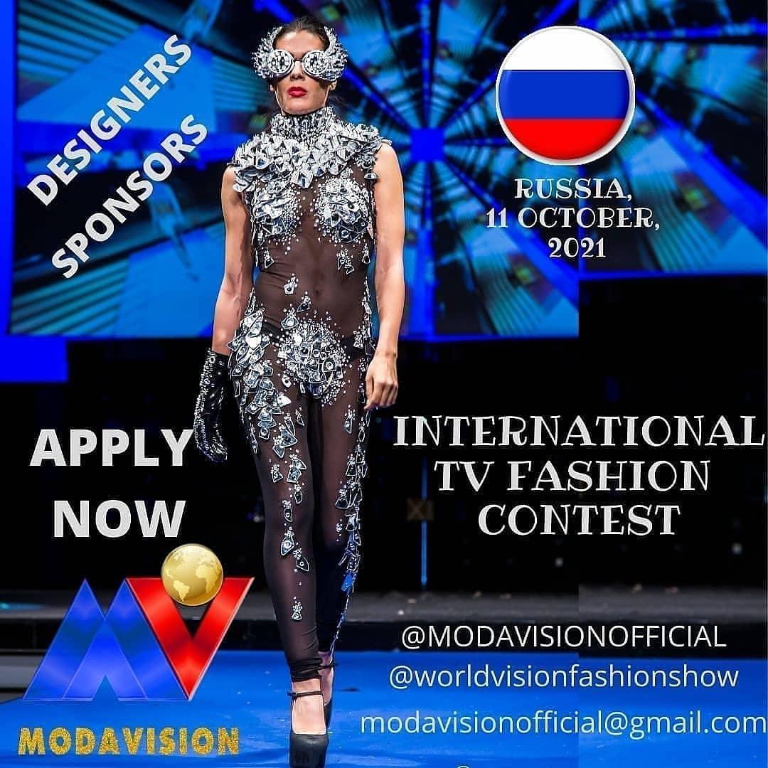 MODAVISION - International TV Fashion contest 11/10/ 2021