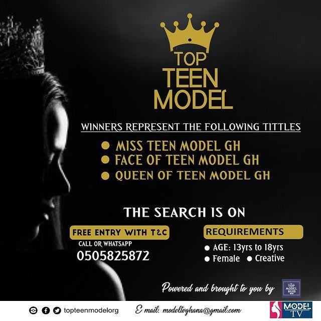 Top Teen Model, Ghana