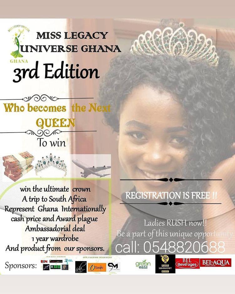 Miss Legacy Universe Ghana