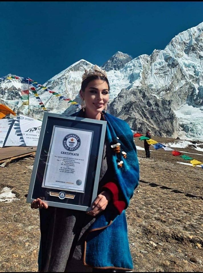 Nepal Sets New World Record by Holding Highest Altitude Fashion Show