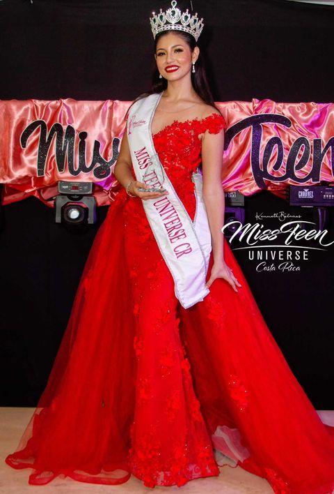 Fabiana Castillo Alvarado crowned Miss Teen Universe Costa Rica 2021