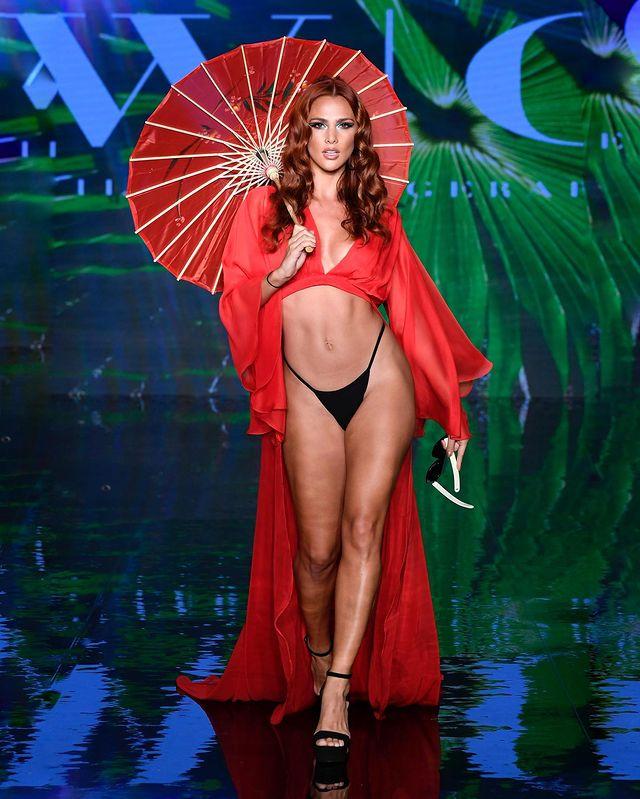Costa Rican Model Karina Ramos Infuses Style And Hotness In New Beachwear Photoshoot