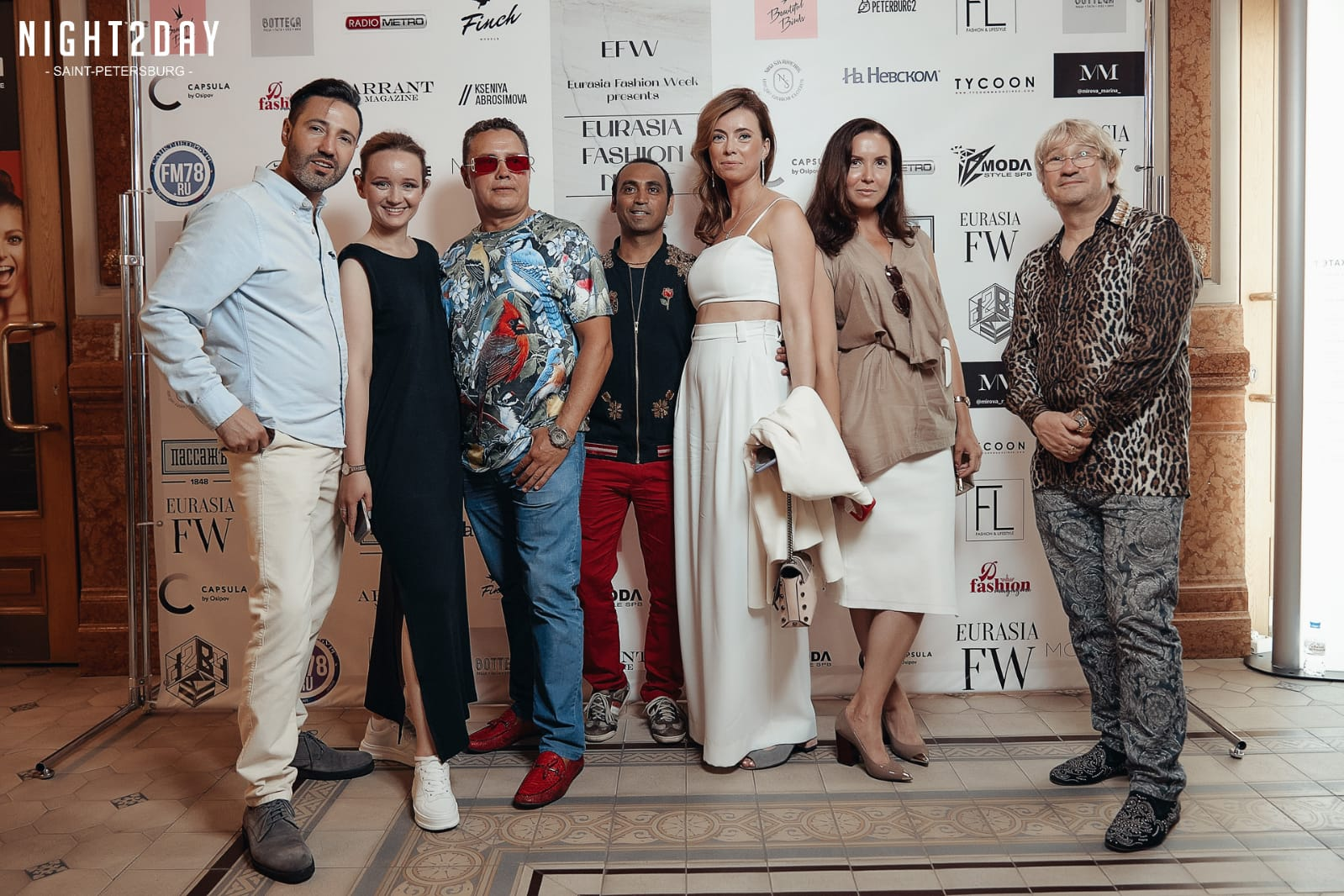Russian Fashion Industry gathered to celebrate «Eurasia Fashion Night»
