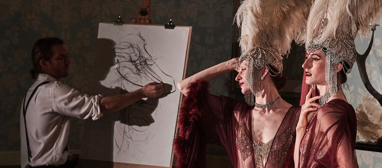 http://dfashionmagazine.com/Drawing Cabaret Couture launched fabulous weekly art classes online