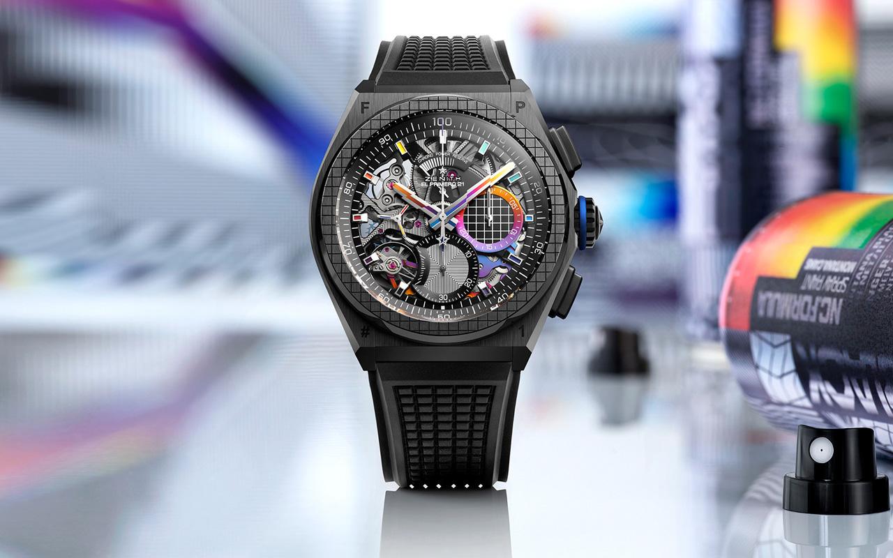 Felipe Pantone X Zenith Defy 21 : Colors of the Watch