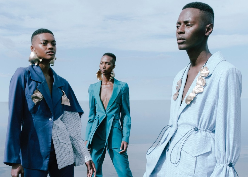 South Africa designer Thebe Magugu unveils new collection in 'spectacular fashion' at Paris Fashion