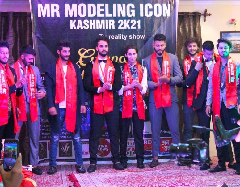 Mohammad Hanan won the title of Mr. Modelling Icon Kashmir 2021