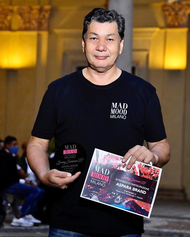 Zhambyl Tourism Road - Show  at MADMOOD Fashion Week  with ASPARA FASHION WEEK in Milan