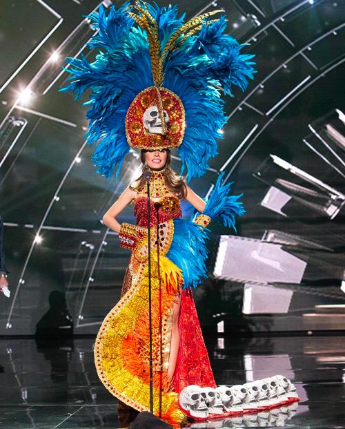 Why Did Miss Honduras Wear Skulls in Miss Universe Pageant?